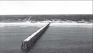 Yaupon Beach Pier in 1950