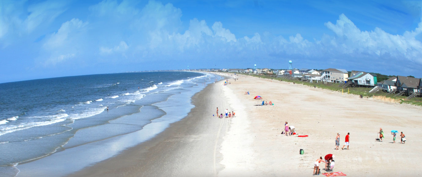 Oak Island Beach Day - Oak Island NC - North Carolina Beaches: Beach Vacation and Relocation ...