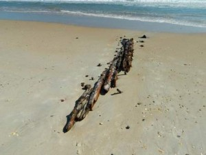 Shipwreck Revealed By Sandy Oak Island Nc Vacation Guide To Oak Island Nc