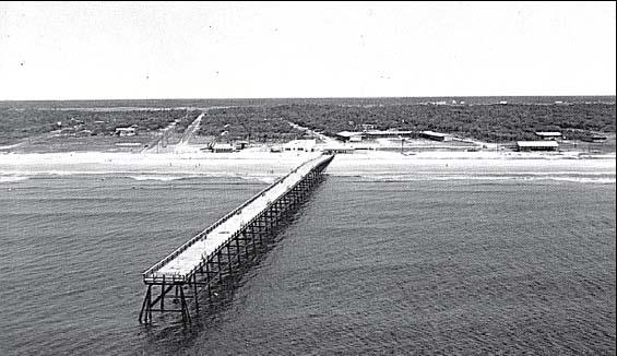 Oak Island During Hurricanes