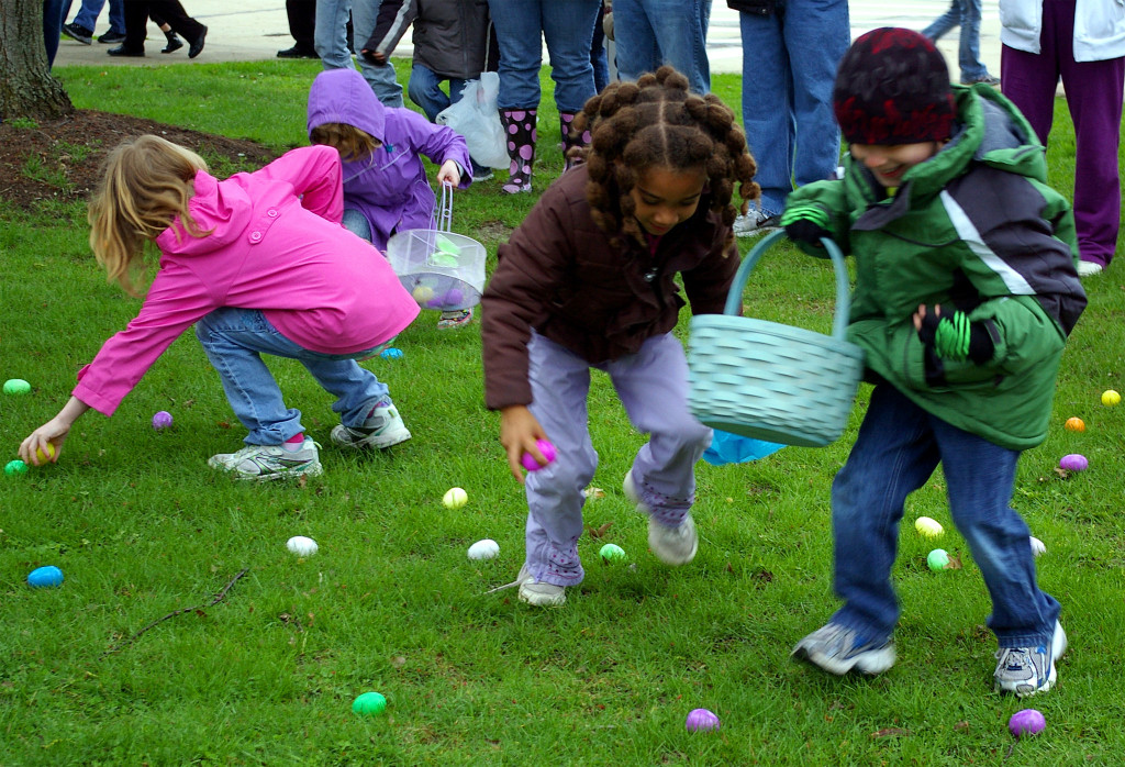 Oak Island Easter Egg Hunt