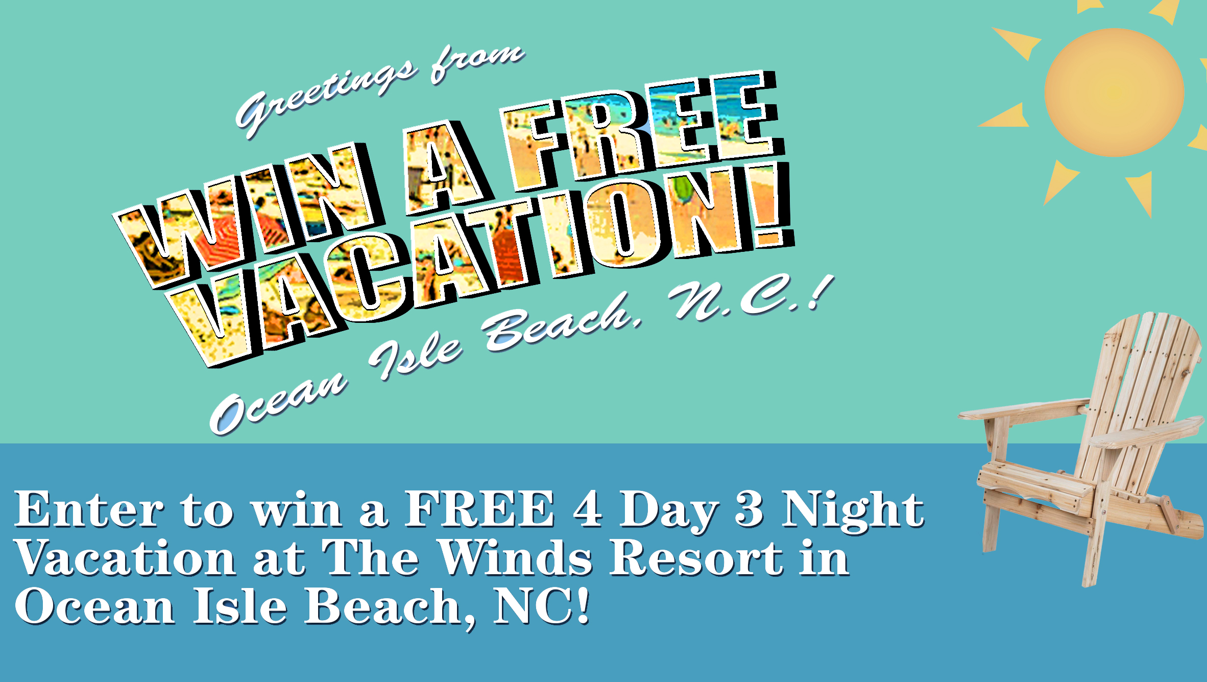 Enter To Win A Free Vacation Oak Island Nc Vacation