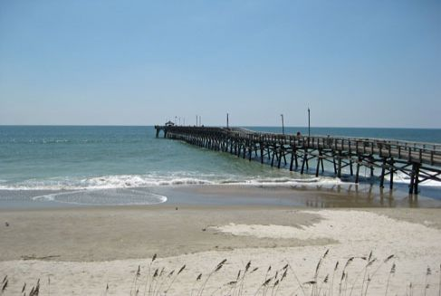 Ocean Crest Pier Oak Island Nc Vacation Guide To Oak Island Nc